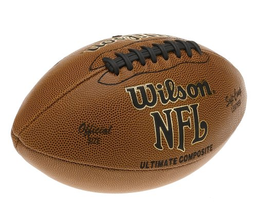 Wilson F1845 NFL Ultimate Composite Game Football (Official Size)