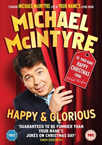 Michael McIntyre - Happy & Glorious (Amazon.co.uk Exclusive Personalised Sleeve Edition) [DVD] [2015]