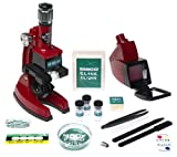 Tasco 1200x Zoom Microscope w/Case and 68 Piece Kit