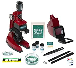 Tasco 1200x Zoom Microscope w/Case and 68 Piece Kit