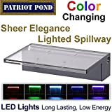 Patriot Sheer Elegance SE24CC Lighted Acrylic Spillway - 24