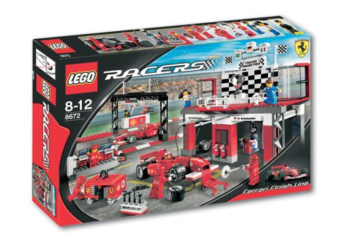 LEGO Racers  8672 Ferrari Zieleinfahrt