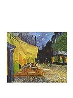 ARTE E TESSUTI by MANIFATTURE COTONIERE Panel Decorativo Van Gogh-Caffe Ad Arles (Azul/Multicolor)
