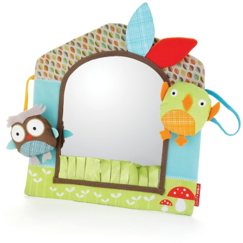 Skip Hop Treetop Friends Friendly Forest Activity Mirror - 1