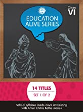 Education Alive Series: Set 1 of 2 for Class 6