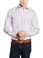 Hackett London Camisa Hombre (Azul / Rosa)
