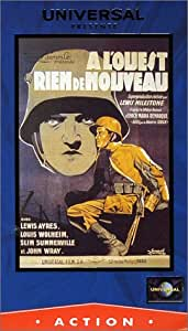 All Quiet on the Western Front [VHS]