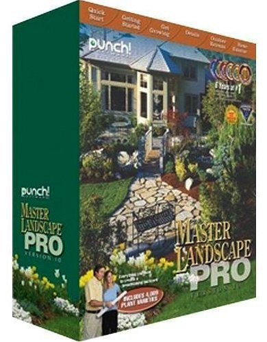 Punch! Master Landscape Professional and Home Design 10.0