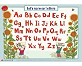 Educational Learning Mats : Learn to write your upper and lower case letters for right handers - Write-on, wipe-clean learning mats.