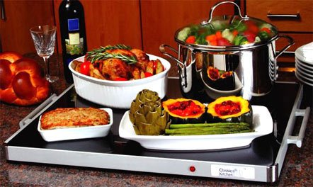"Lowest Price! Deluxe Shabbat Warming Tray Full Size 24"" x 20"" Blech Electric"