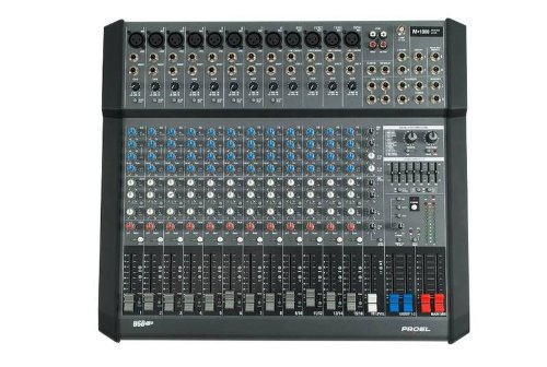 Proel M1000USB 1000 - Watt 16 - Channel Powered