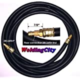 TIG Power Cable Hose 57Y01R 1-Pcs Style 12.5' for WP-9 WP-17 TIG Welding Torch