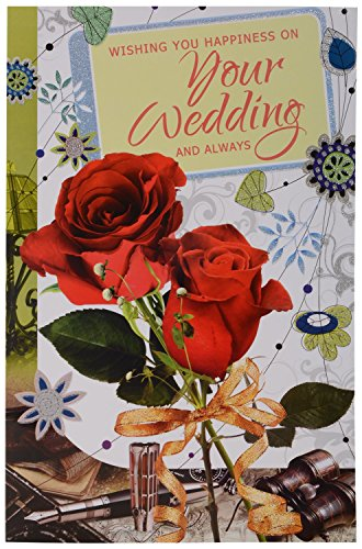Signature Wedding Greeting Card 28 Cm X 44