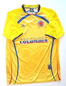 Buy COLOMBIA SOCCER JERSEY ONE SIZE LARGE .NEW by DRAKO INC