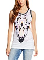 Just Cavalli Top (Lila / Multicolor)