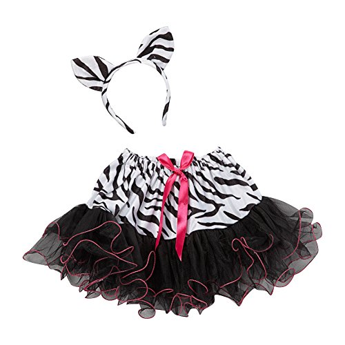 Zebra Tutu & Headband Set - 1