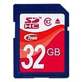 TEAM SDカード SDHC CLASS10 32GB TG032G0SD28X