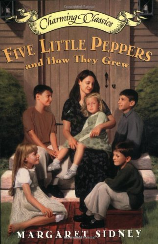 Five Little Peppers and How They Grew Book and Charm (Charming Classics)