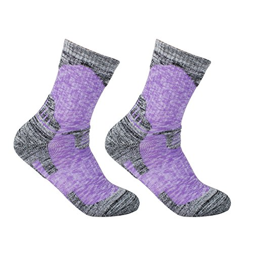 YUEDGE-Womens-2-Pack-Antiskid-Wicking-Cotton-Socks-For-Outdoors-Camping-Hiking