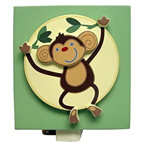NoJo Jungle Babies Night Light (Discontinued by Manufacturer)