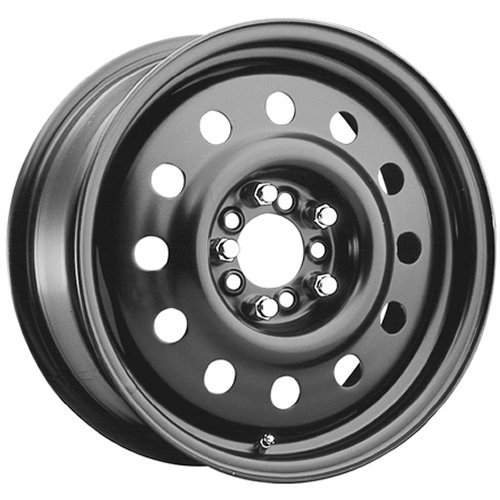 Pacer Black Modular 16 Black Wheel / Rim 4x100 & 4x4.5 with a 41mm Offset and a 72 Hub Bore. Partnumber 83B-66541 (Black Rims For Honda Civic compare prices)