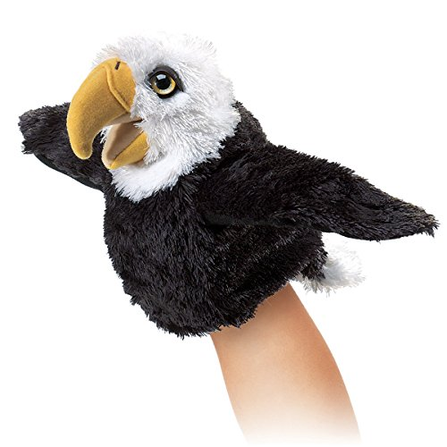 Folkmanis Little Eagle Hand Puppet - 1