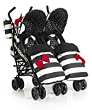 Cosatto Supa Dupa Twin Stroller Special Edition (Go Lightly)