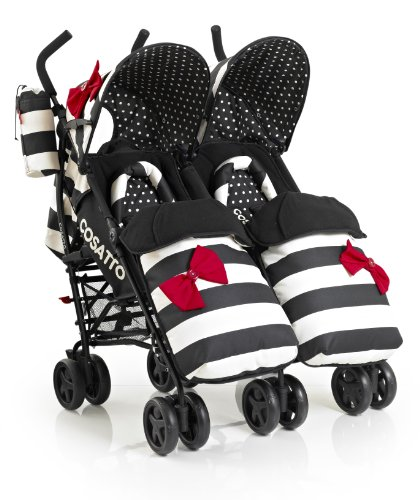 Cosatto You 2 Twin Stroller (GoLightly)