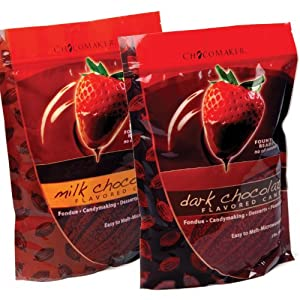 ChocoMaker Fondue Dipping Candy Milk Chocolate 2 pounds by ChocoMaker