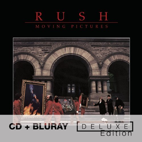 RUSH Moving Pictures - Deluxe Edition [CD + Blu-ray] by Rush (2011) Audio CD (Moving Pictures Blu Ray compare prices)