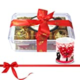Valentine Chocholik Luxury Chocolates - Savory Treasure Of Wrapped Truffles With Love Mug