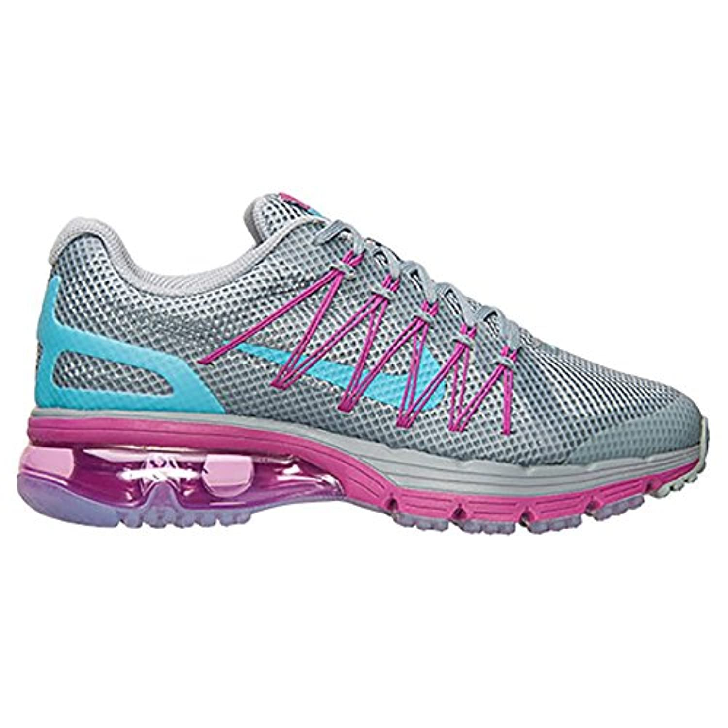 100% authentic 86212 6b1ce ... Nike Air Max Excellerate 3 703073-046 Grey Clearwater Fuchsia Flash  Women s Running ...