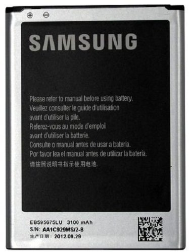 Samsung EB595675LU/EB595675LUC/EB595675LABXAR/EB595675LAGSTA Battery for Galaxy Note 2 - Original OEM - Non-Retail Packaging - Black  available at amazon for Rs.1549