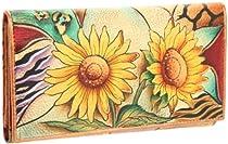 Anuschka 1043 SFS Wallet,Sunflower Safari,One Size