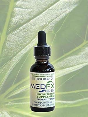 MedFX® Hemp Extract 500mg
