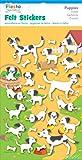 Fiesta Crafts Puppies Felt Stickers