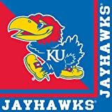 Creative Converting Kansas Jayhawks Luncheon Napkins (20 Count) at Amazon.com