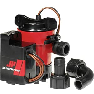Buy Johnson Pump Combo Bilge Pump with Auto Electromagnetic Switch by Johnson Pump