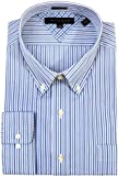 Tommy Hilfiger Mens Slim Fit Multi-Striped Dress Shirt