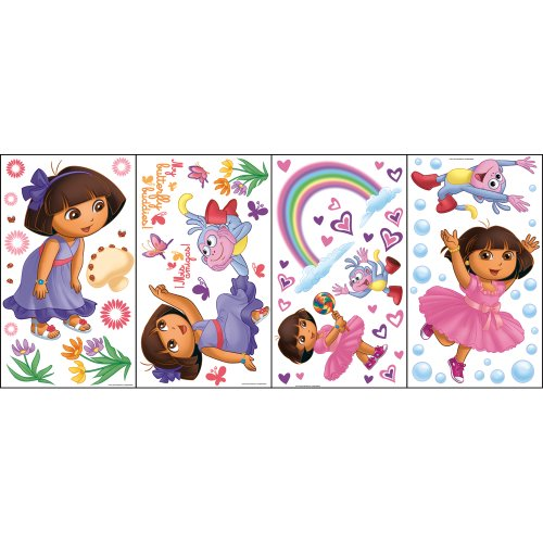 nickelodeon-dora-the-explorer-self-stick-rainbow-stars-appliqu