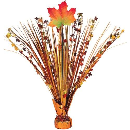 Fall Leaves Foil Spray Centerpiece (Each)