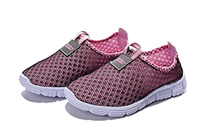 Toosbuy Child's Breathable mesh Soft EVA Running Sport Walk Outdoor Shoes