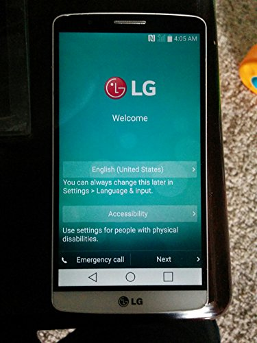LG G3 D851 32GB Unlocked GSM 4G LTE Quad-HD Android Phone w/ 13MP Camera - Silk White
