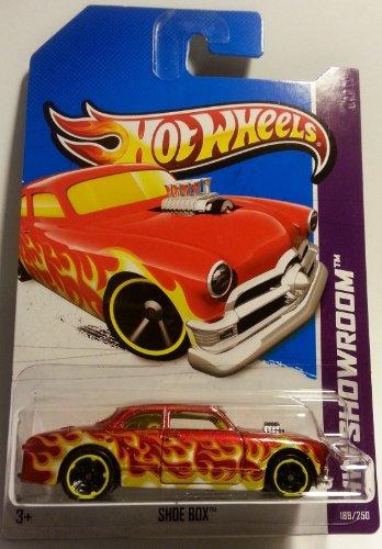 2013 Hot Wheels Hw Showroom Shoe Box 188/250