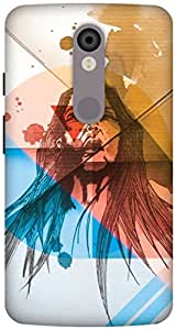 The Racoon Lean Wild hard plastic printed back case / cover for Motorola Moto X Force