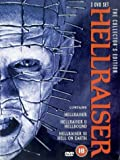 Hellraiser 1, 2 and 3 Collectors Edition Pack [DVD]