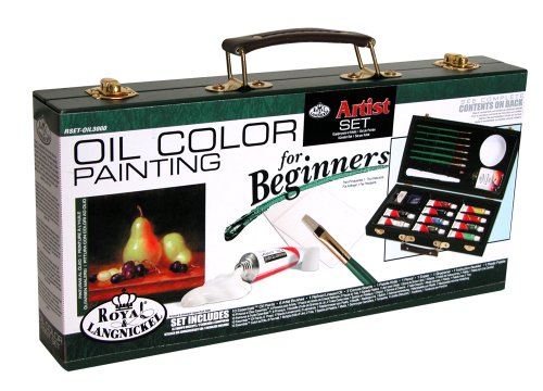 Royal Brush and Langnickel Oil Color Painting Artist Set For Beginners