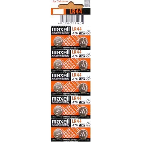 Black Friday 2013 10 pack MAXELL AG13 LR44 357 button cell battery