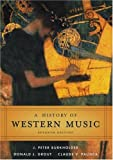 img - for A History of Western Music book / textbook / text book