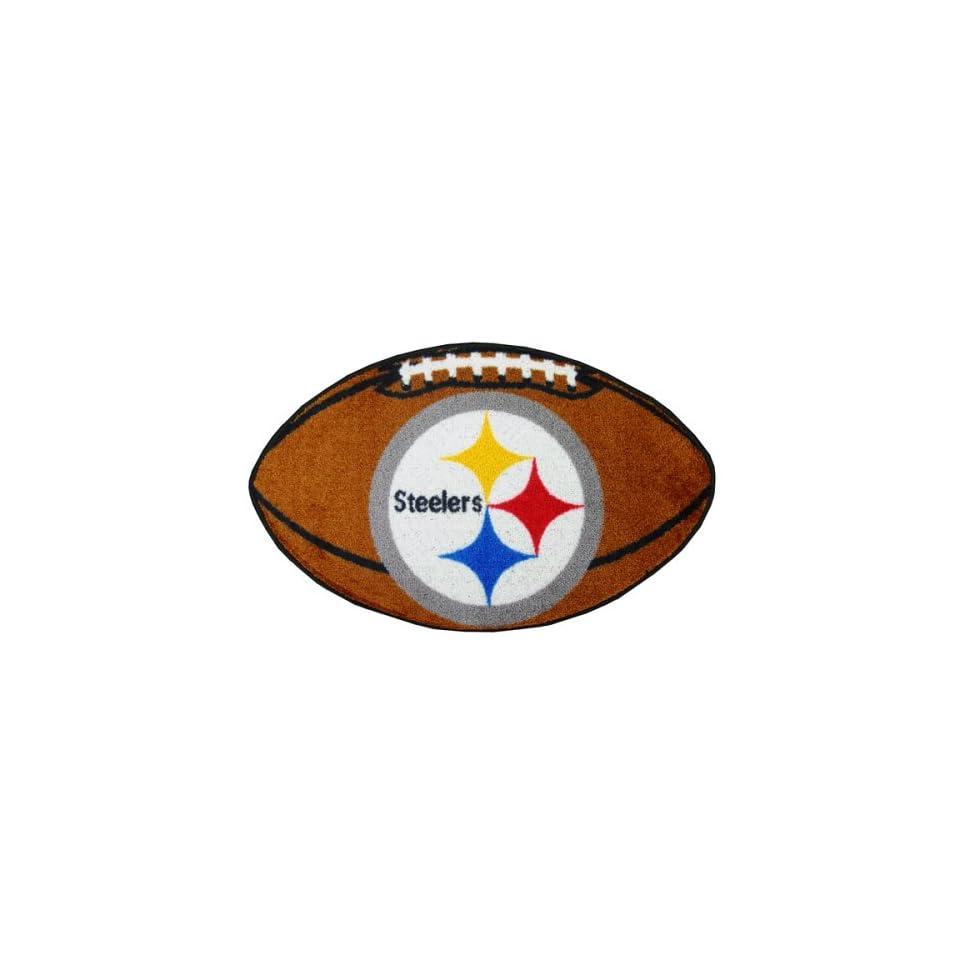Fanmats 5828 NFL Pittsburgh Steelers Football Mat